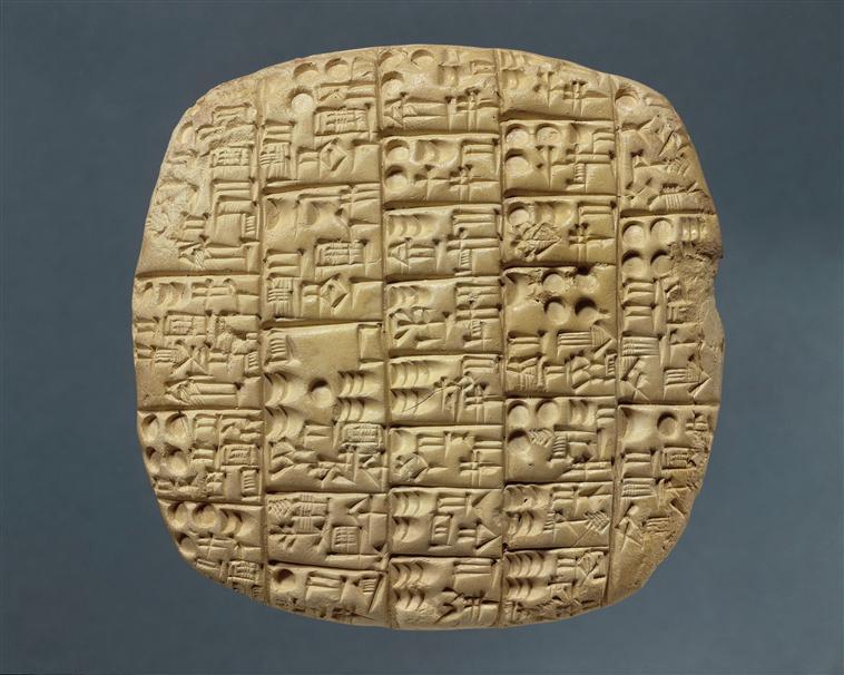 tablette cuneïforme